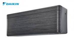 Хиперинверторен климатик Daikin Stylish Черно дърво  FTXA25BT/RXA25A